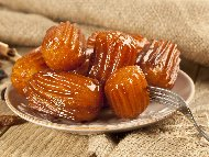 Печени толумбички със захарен сироп на фурна